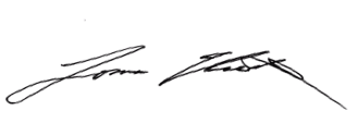 Tomas Uresti Signature